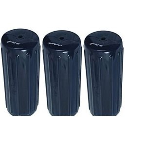 ribbed center fender navy blue. 3-pk, 6'' x 15''