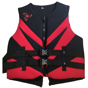 Neoprene Canadian approved outdoor sports and boating life jacket vest, LARGE