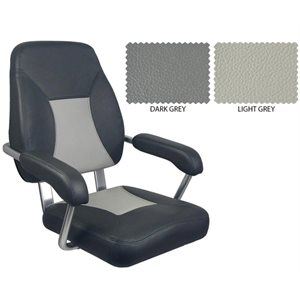 deluxe mini mojo seat dark grey /  light grey