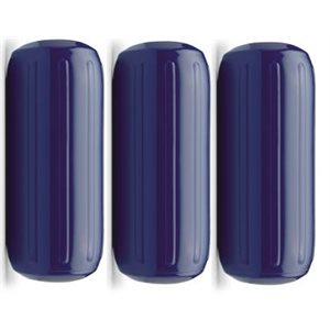 ribbed center fender navy blue, 3-pk, 8'' x 20''