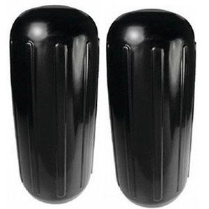 ribbed center fender black. 2-pk, 10'' x 25''