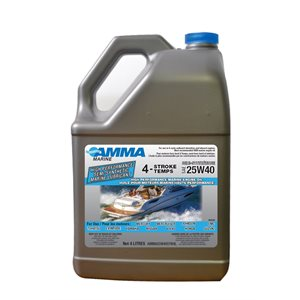 HIGH PERFORMANCE SEMI-SYNTHETIC MARINE LUBRICANT 4 LITRE