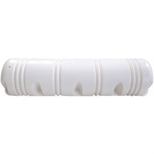 dock side bumper 3 / 4'' round white