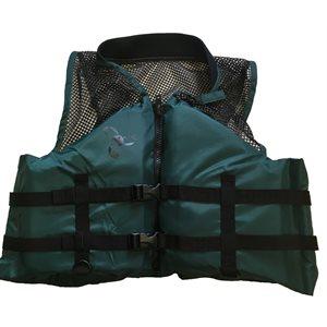 Veste de flottaison individuel de sport et de pêche adulte approuvé au Canada, Large