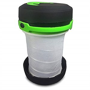 Collapsible Lantern. Green