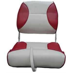 siège pliant de luxe blanc & rouge