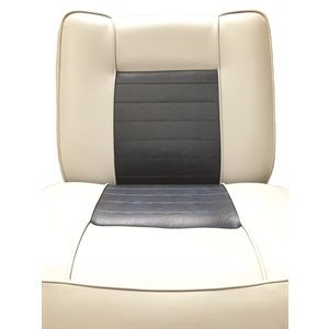 lounge seat back-to-back grey / navy