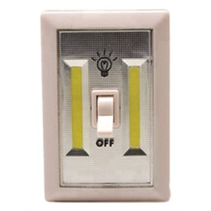 Wall light switch COB