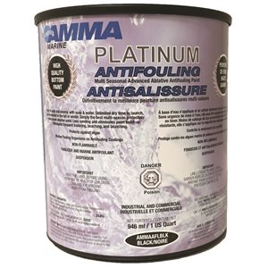 anti-fouling paint blk  / qt