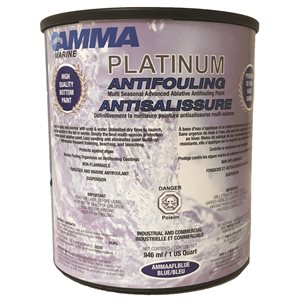 ANTI-FOULING PAINT BLUE  /  QT
