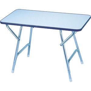 large rectangular folding deck table
