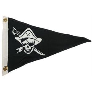 FANION JOLLY ROGER 12'' X 19,5'' X 19,5''