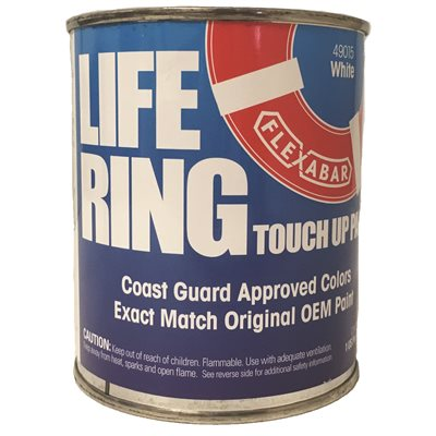 TOUCH UP PAINT FOR BUOYS - WHITE, PINT