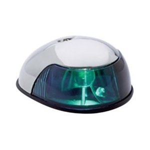 "NAVIGATION LIGHT TRIBORD ""QUASAR"" CHROME"