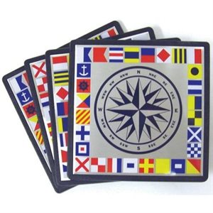 nautical coaster set of 4