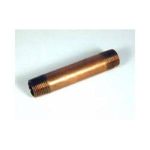 "brass pipe nipple 4"""