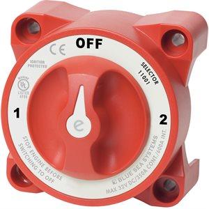 Interrupteur de batterie à 3 positions du sélecteur e-Series avec AFD