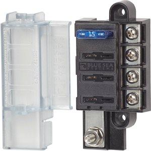 Blocs fusibles compacts ST Blade - 4 circuits