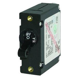 Circuit breaker 15 amp black