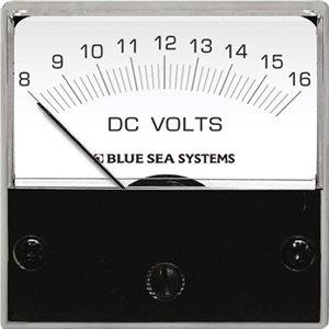 DC Micro Voltmeter - 8 to 16V DC