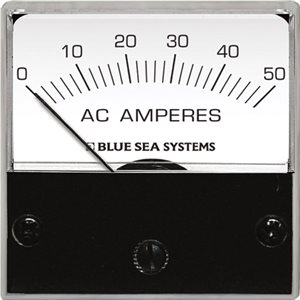AC Micro Ammeter - 0 to 50A with Coil
