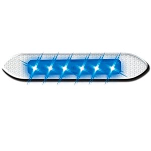 blue led marine marker light