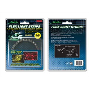 yellow flex light strip