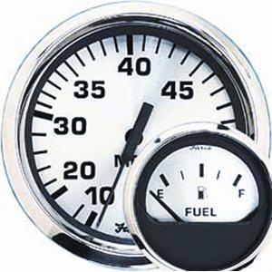 euro white fuel level gauge