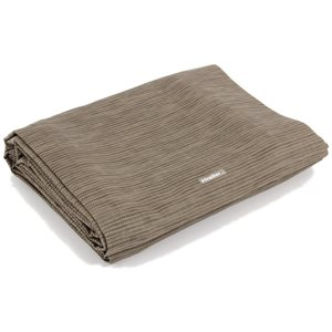 awning leisure mat, 7' x 15', brown w / canvas bag
