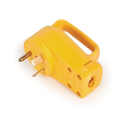 30amp powergrip repl male plug 125v / 3750w clam ccsaus