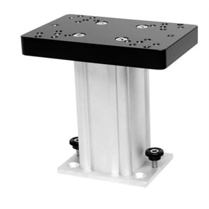 "6"" ALUMINUM FIXED BASE PEDESTAL MOUNT"