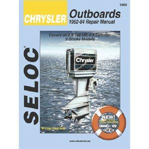 chrysler outboard 1962-84 3.5-150hp motor engine repair manual