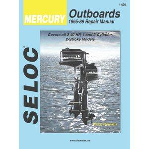 mercury outboard motor engine repair manual 1965-89 1,2 cyl 2 stroke
