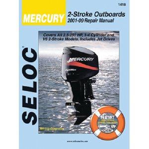 mercury outboard manual 01'-09'