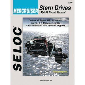 mercruiser stern drive manual 64'-91'.