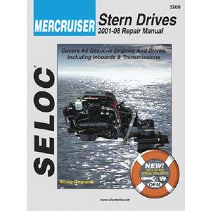 mercruiser stern drive manual 01'-08'.
