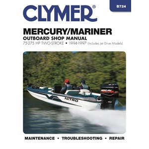 service manual mercury / mariner 75-275 hp ob 94-97