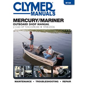 service manual mercury / mariner 2 2.5-60 hp two-stroke 1998-2006