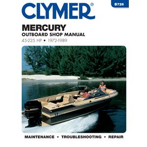manuel d'entretien mercury 45-255 ch ob 72-1989