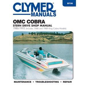 service manual omc cobra stern drive 86-1993