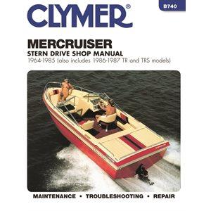 manuel d'entretien semi hors-bord mercruiser 64-1985
