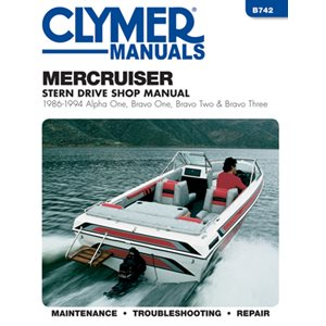 manuel d'entretien semi hors-bord mercruiser 86-94 a1 b1 & b2