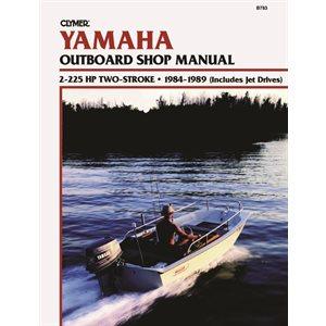 manuel d'entretien yamaha 2-225 ch 2 temps 84-89