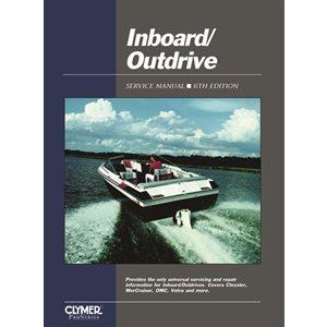 manuel d'entretien pour moteur en bord et arbre extérieur.