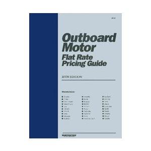 manuel d'entretien pour moteurs hors-bords, avec estimatif des temps d'ouvrage