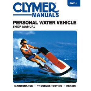 """manuel d'entretien pour véhicule marin personnel type ''seadoo"""" et autres marques svc."""