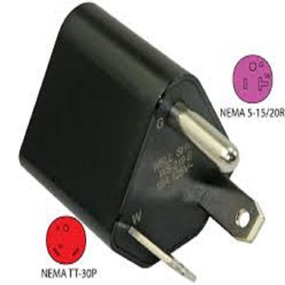 30 AMP Male to 15 AMP Female RV Power Adapter