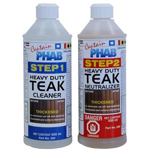 teak cleaner kit