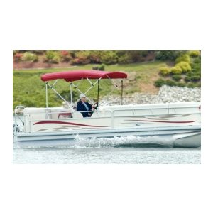 4-bow 1 inch square tube bimini top frame (frame only) carver 50510 fits 91-96 inch w, 8 ft l, 48 inch h-bimini top