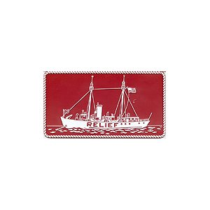 PLAQUE RELIEF SHIP (RED)